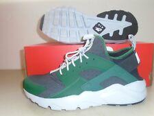 New Nike  Air Huarache Run ultra Gorge Green White Black Running shoes sz 10