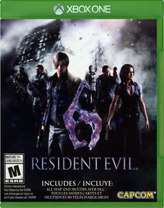 RESIDENT EVIL 6 (BILINGUAL COVER) (XBOX ONE)