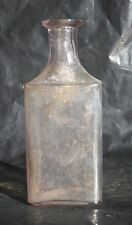 VTG 6OZ cork top turning purple with old symbol for ounces Apothecary TP Co