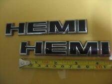 DODGE MAGNUM/CHARGER HEMI EMBLEMS