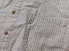 COLUMBIA BUTTON FRONT S/S SHIRT SIZE XXL