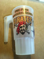 RARE PITTSBURGH PIRATES PNC PARK INAUGURAL SERIES (VS. METS) 22 0Z MUG - 2001