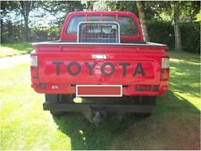 Black Sticker Decal for Toyota Hilux Tailgate rear door back pick up D4D mk3 96