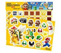 Nintendo Super Mario Maker 3DS Magnet Set New in Sealed Package
