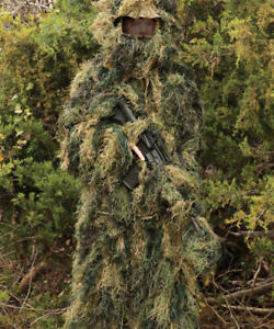 Red Rock Gear Ghillie Outdoor Hunting Suit Woodland Camouflage XL/2XL 70915XLXXL