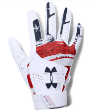 Under Armour Clean Up Baseball Batting Gloves, Adult Size M, L, USA, B10