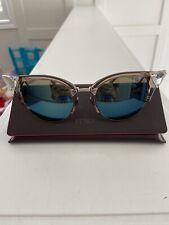 Fendi Iridia Cat Eye Lightweight Sunglasses