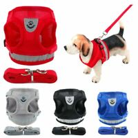 Dog Cat  Control Harness Soft Mesh Collar Leash Safety Strap Vest Pet Supplies