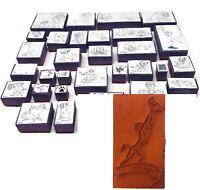 The Lion King Rubber Stamp Set Lot of 31 Vtg Simba Nala Mufasa Scar Vintage 90s