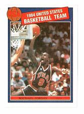 Michael Jordan 1984 Rookie USA Olympic Basketball Reprint Card