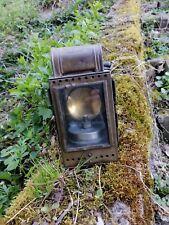 Antike Bahnlampe, Karbidlampe Heinrich Gillet Edenkoben 1960