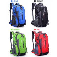 UK Waterproof Outdoor Climbing Travel Large Backpack Camping Rucksack Bag Sports