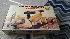 NEW Tefal Foyer a Raclette Haard Melter Warmer Demi 1/2 Half Wheel Cheese Server