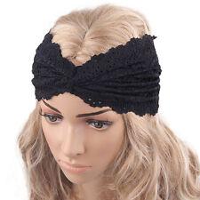 Fashion Womens Headwear Twist Sport Yoga Boho Headbands Turban Headscarf Wraps