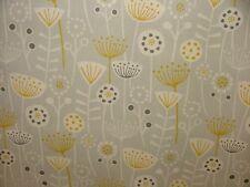 """Bergen"" Fryetts Designer 100% Cotton Fabric Curtain Upholstery Cushion Craft"