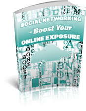 Social Networking Boost Your Onlin Ebook Pdf With Resell Rights Delivery 12hrs