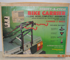 Convey-A Cycle 2 Bike Carrier Car Trunk Mount Bikes Model 9620 Folding Made USA