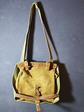 Swiss Militaria Vintage Leather Luggage Strap Bag