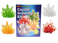 World of Science Crystal Growing Kit Grow 4 Colourful Crystals Ty8894