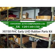 6799 E LHD    Jaguar XK150 FHC (Fixed Head) Complete Rubber Parts Kit RPK150F