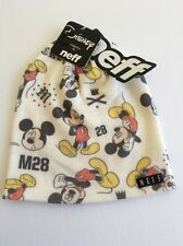 New NEFF Beanie Disney Collection Street Skater Surfer Micky Mouse Hat Cap