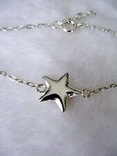 Bracelet avec étoile en argent massif