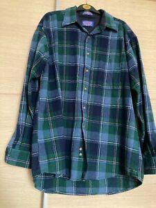 pendleton shirt mens large