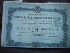 REVIGNY - CDF D INTERET LOCAL de la MEUSE -