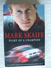 Mark Scaife ~ DIARY OF A CHAMPION (HRT Team) 2002 LgePB (Like New) Combine &Save