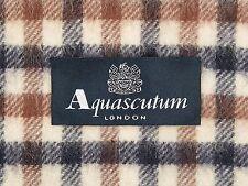 Aquascutum Pure Laine D'Agneau Echarpe classic house vérifier