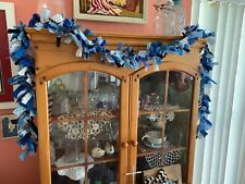 Christmas/everyday blues rag garland