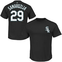 Majestic Jeff Samardzija Chicago White Sox Official Name and Number T-Shirt