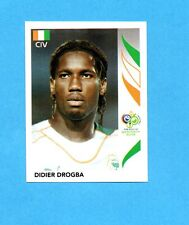 PANINI-GERMANY 2006-Figurina n.205- DROGBA - COSTA D'AVORIO -NEW BLACK