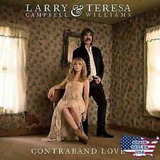 Larry Campbell & Teresa Williams - Contraband Love (Audio CD 09/15/2017)