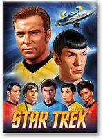 Star Trek Rundhals Kühlschrank Magnet (NM)