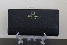 NWT Kate Spade New York Black Southport Avenue Stacy Wallet
