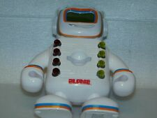 Alphie the Robot, learning system, works great, no cards included.robot only
