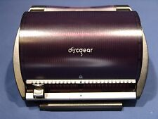 DISCGEAR SELECTOR 50 CD DVD STORAGE SYSTEM SPACE SAVER FOR 50 DISCS PURPLE