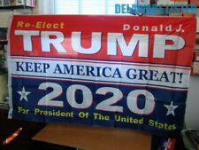 RE-Elect PRESIDENT DONALD TRUMP 2020 *KEEP AMERICA GREAT* USA 3'~5' FLAG/BANNER