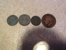 UERDINGEN 5P 1917 Germany UNC 10P 1917A  5P 1917 Great Britain 1/2 P 1917 coin