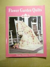 New listing Flower Garden Quilts Designs Patterns Techniques Book Quilts Made Easy 1996