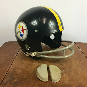 1970's Vintage Rawlings Football helmet Pittsburg Steelers
