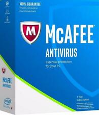 McAfee Antivirus Latest Version - 1 PC 1 Year (eDelivery)