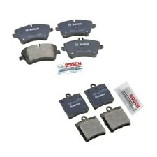 Mercedes Benz W203 C230 Set Front & Rear Brake Pad Kit Bosch QuietCast