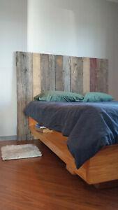 Reclaimed Barn Wood Headboard