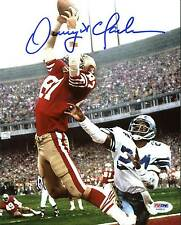 """49ers Dwight Clark Authentic Signed 8X10 Vertical Photo Of """"The Catch"""" PSA/DNA"""