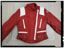 Giubbotto In Pelle Da Moto Vintage Biker Jacket