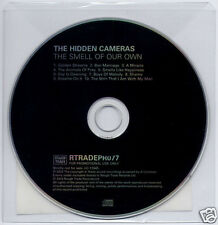 THE HIDDEN CAMERAS Smell Of Our Own UK promo CD Rough Trade