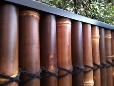 BAMBOO FENCE PANEL PROTECTIVE CAPPING IN 1.8m LENGTHS. SUPERIOR STEEL CAPPING!!