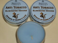 New Prices Wax Scented Candle Eliminates Tobacco Odours Tin Pk 3 Triple